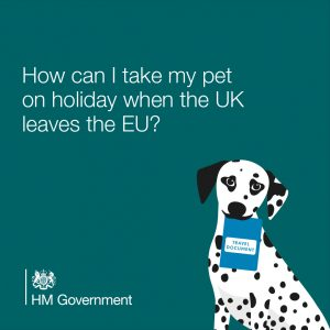 pet passport and pet export